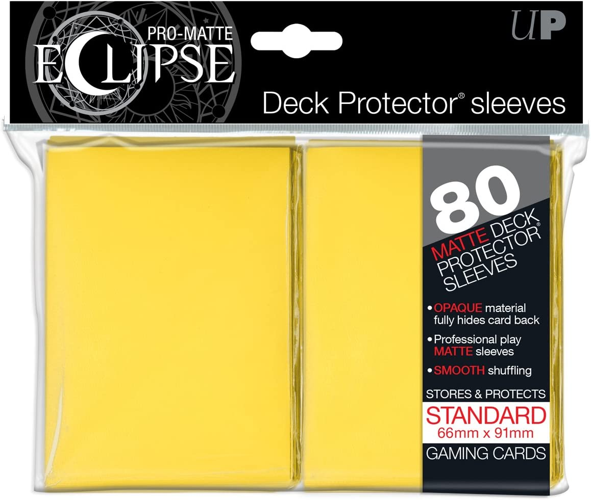 Ultra Pro UPR85605 Eclipse Standard Matte Card Sleeves