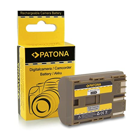 PATONA Premium Bateria BP-511 Compatible con Canon PowerShot G1 G2 G3 G5 G6 Pro1 300D