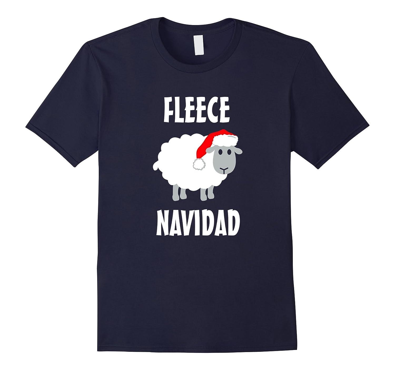 Fleece Navidad funny feliz navidad Christmas t-shirt-Art