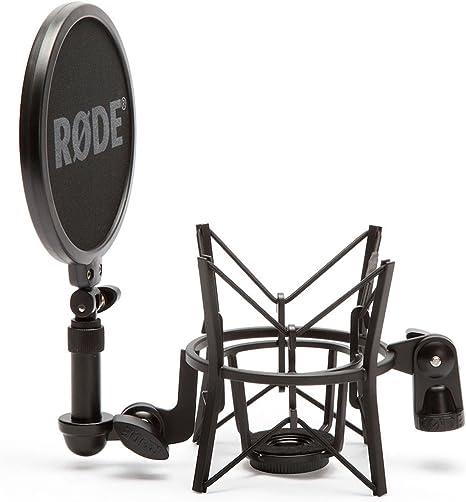 psm1 araña Rode procaster radiodifusión micrófono micrófono