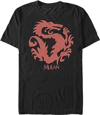 Amazon Com Mulan Men S Dragon Symbol T Shirt Clothing