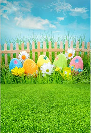 Yeele-Easter-Backdrop 10x7ft Easter Photography Background Eggs Happy Easter Photo Backdrops Pictures Studio Props Wallpaper
