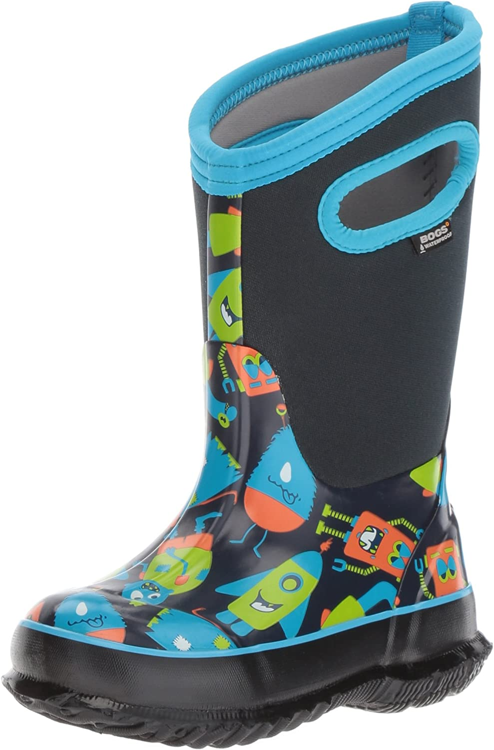 BOGS Unisex-Child Classic High Waterproof Insulated Rubber Neoprene Rain Boot