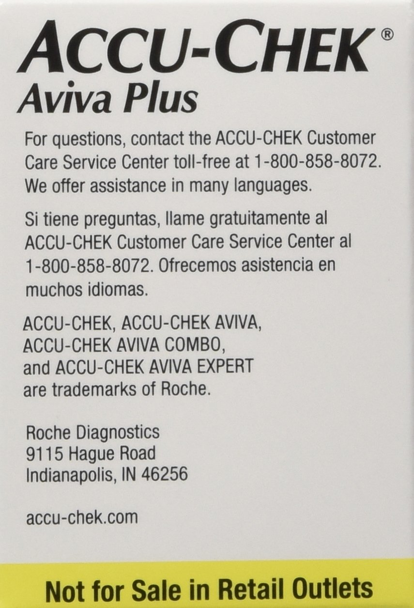 Accu-Chek Aviva Plus Mail Order 100 count by Roche (Image #2)