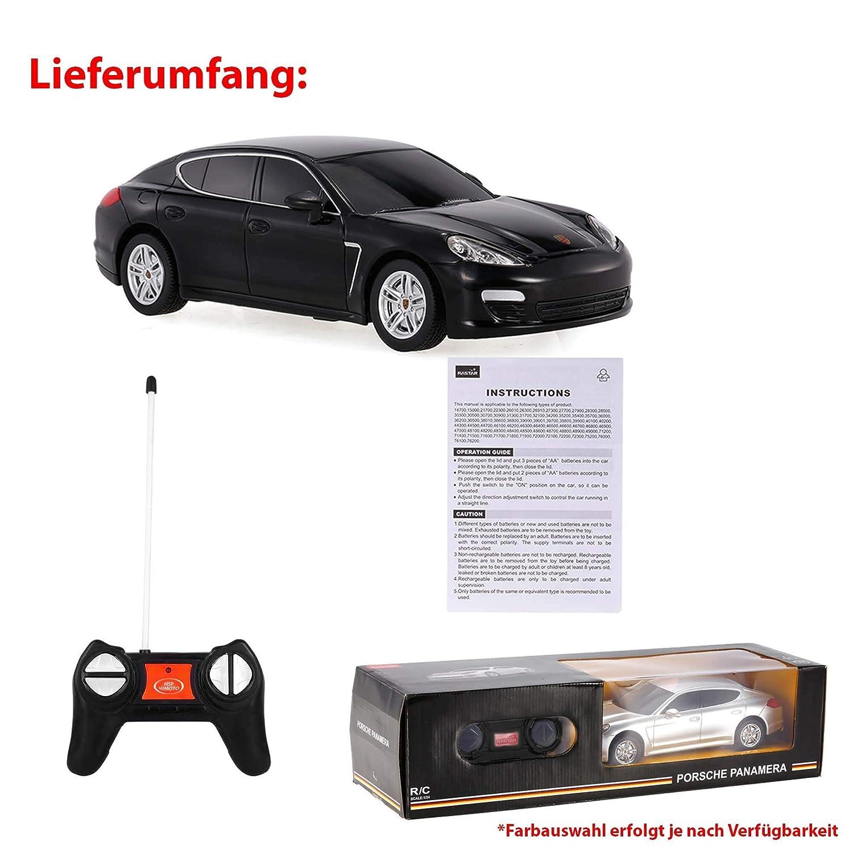 Porsche Panamera original 1 : 24 modèle RC voiture Licence Véhicule pour voiture avec télécommande: Amazon.es: Juguetes y juegos