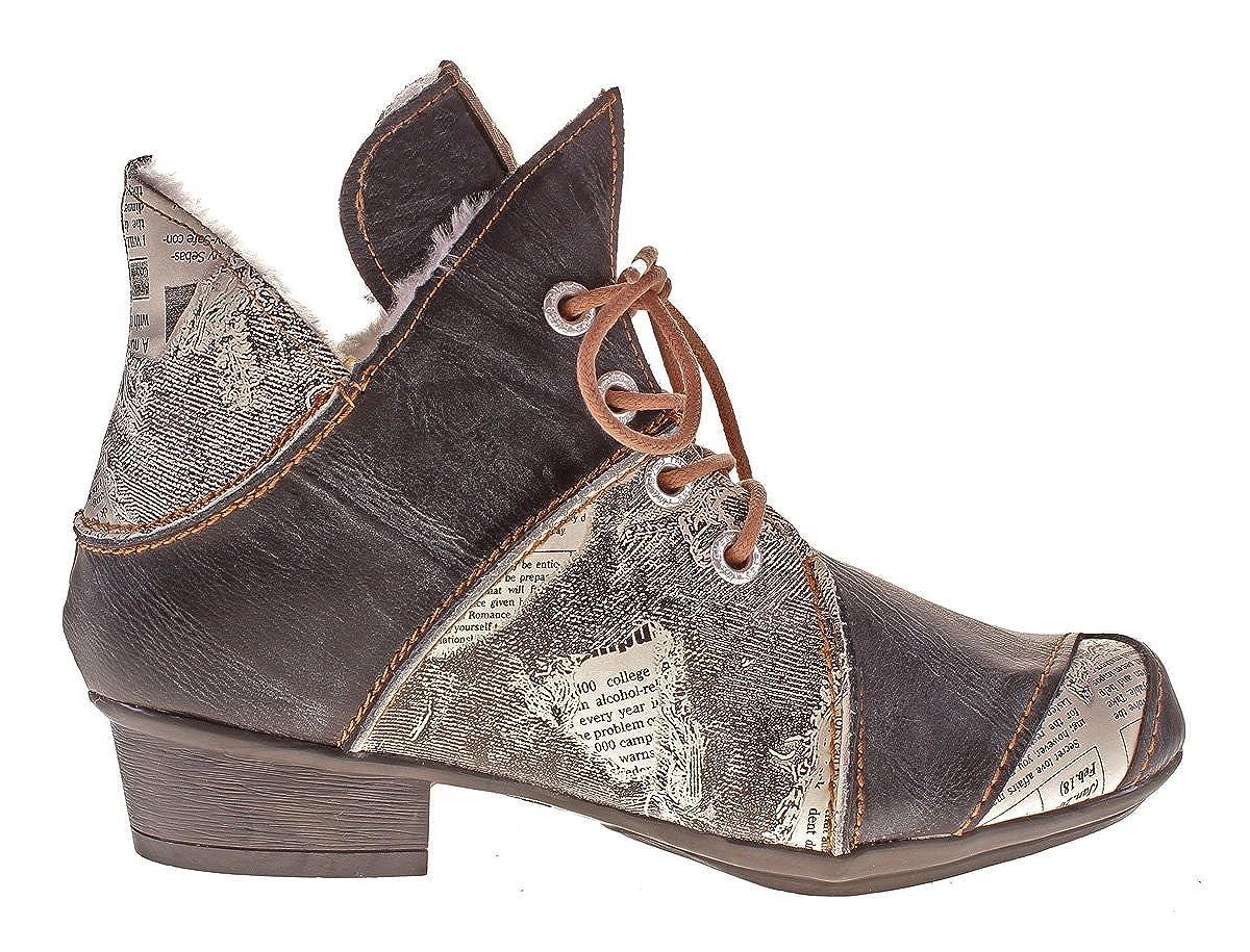 TMA Damen Winter Stiefeletten Stiefeletten Winter echt Leder Stiefel Leder Schuhe 8818F ... 7b8a6e