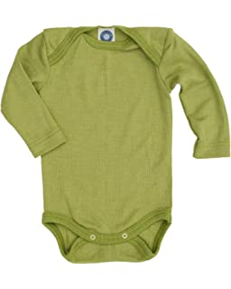 360420e2a Engel 100% Organic Merino Wool Baby-Body Vest Long-Sleeve: Amazon.co ...