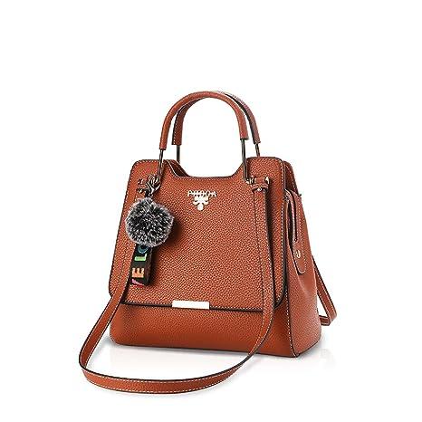 NICOLE & DORIS Trendy Hot Women Crossbody Bag Simple Office Lady Bolso de hombro PU Leather