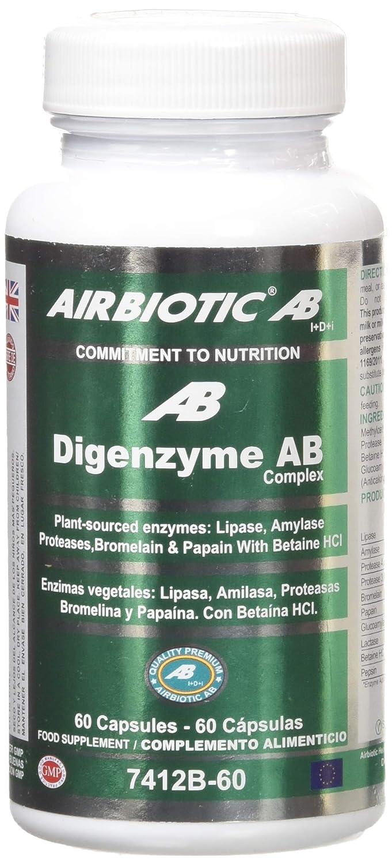 Airbiotic AB, Complejo de Digenzyme AB, 60 Capsulas, Ayuda ...