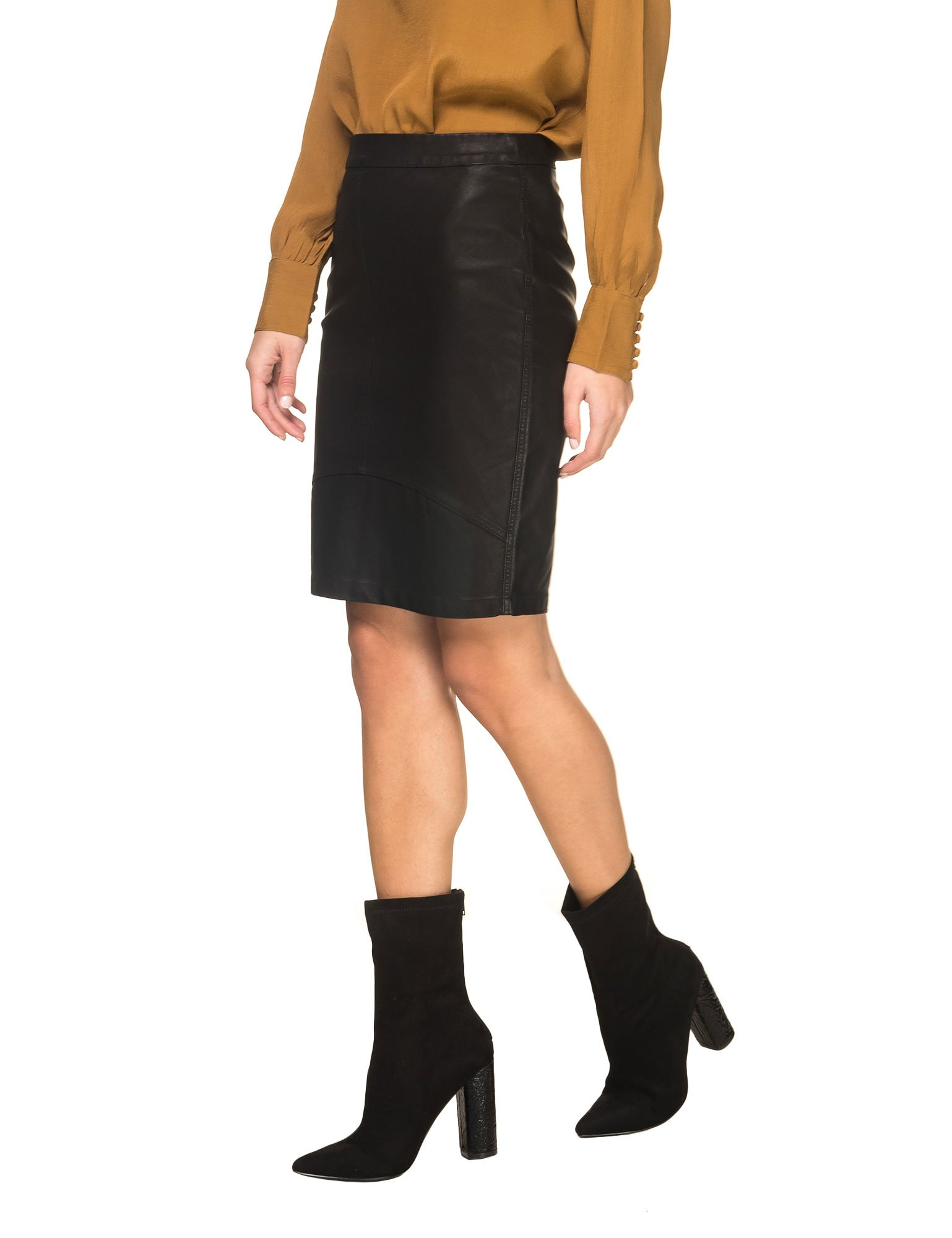 MINIMUM Women's Tilla 0360 Women's Skirt In Black In Size 34-XS Black