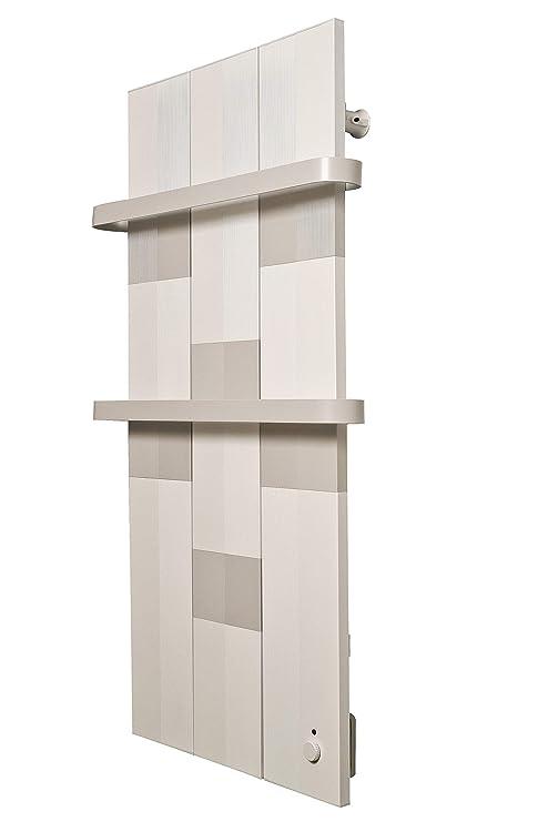 Finesa Badheizkörper-Handtuchwärmer-Elektrischer,Wärmeabgabe 400-750  W,Termostat,Handtuchtrockner,Handtuchhalter (1000x558, Grau-Weiß)***** 5  Jahre ...