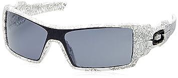 Oakley - Lunette de soleil 03-461 Oil Rig Écran - Homme, White ... 82860c4c0e25
