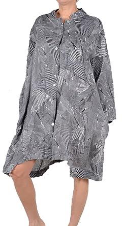 LAGENLOOK Tunika Long-Shirt /& Kapuze 44 46 48 50 52 54 56 58 L-XL-XXL-XXXL