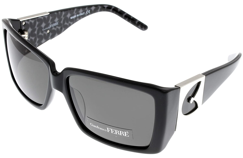 29f67e6387e6 Amazon.com  Gianfranco Ferre Sunglasses Womens GF957 01 Black Palladium   Clothing