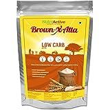 NutroActive BrownXatta, Low Carb keto friendly flour - 900 gm