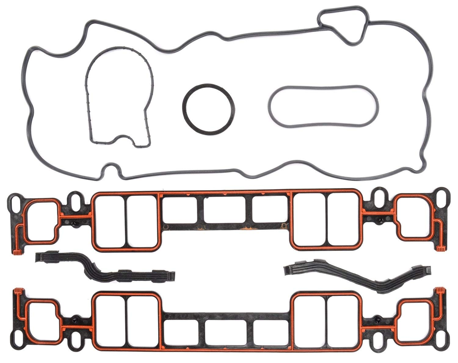 JEGS 210009 Intake Manifold Gaskets 1996-2002 Small Block Chevy 305 /& 350 Vortec