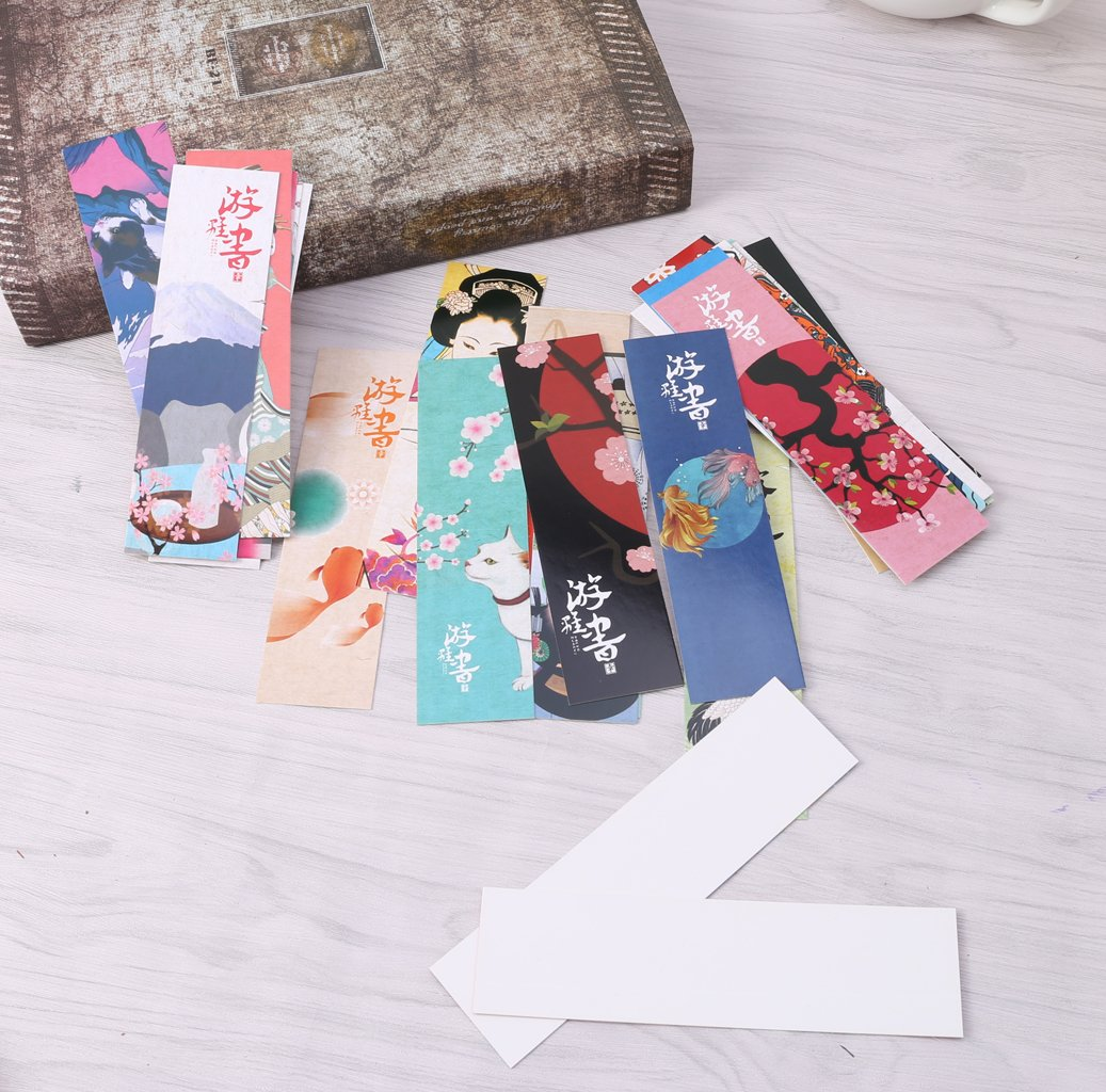 Tandou 30Pcs//bag segnalibro vintage in stile giapponese Book Marks for School Student