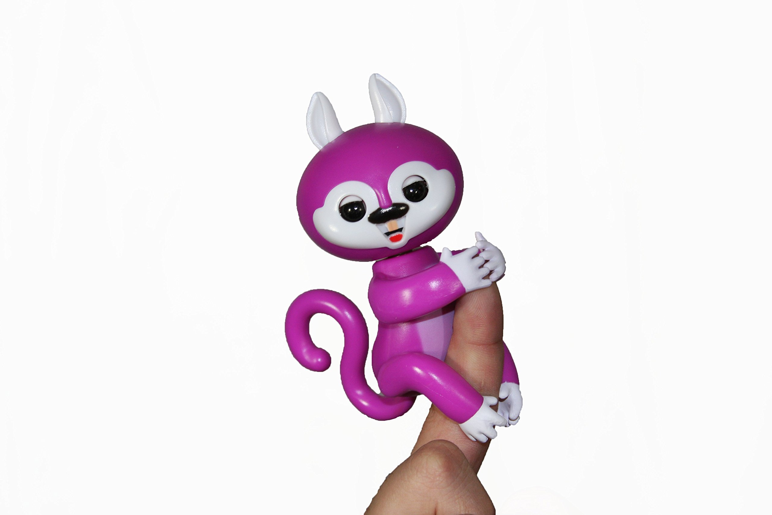 My FingerFriend Baby Squirrel- Electronic Pet Baby Squirrel (Purple)