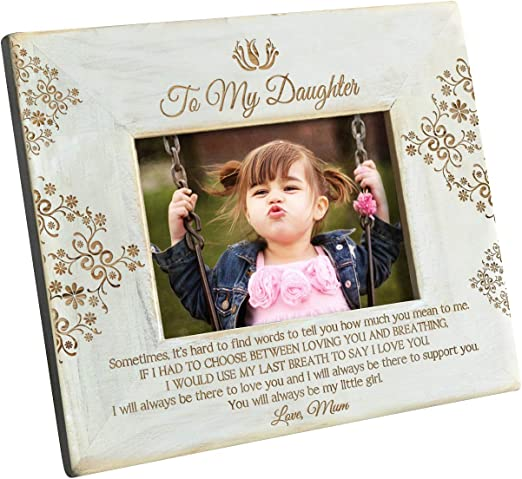 Personalized 4x6 I Love You Daddy or Mommy Frame Gift