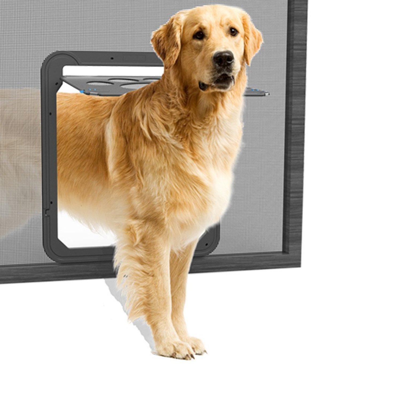 Porte chatière LESYPET Staywell pour animaux chien & chat, porte de grande taille pour chien