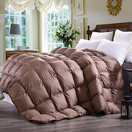 Amazon Com C W Luxurious King Size Siberian Goose Down Comforter
