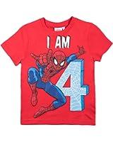 Spiderman Jungen T-Shirt - rot