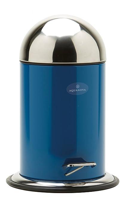 poubelle de salle de bain bleu pétrole sherpa aquanova taco 3 l ... - Salle De Bain Bleu Petrole