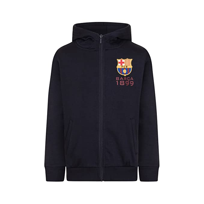 Amazon.com: FC Barcelona Official Soccer Gift Boys Fleece Zip Hoody: Clothing