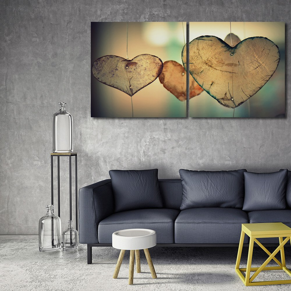 Deco Panel Küche | Feeby Wandbilder 2 Teile 200x100 Cm Quadratische Kunstdrucke