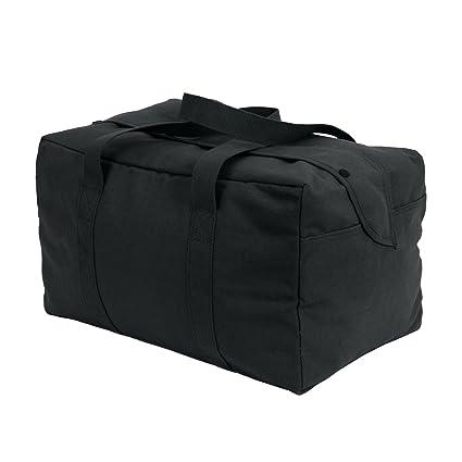 e3bd2534c2f6 Amazon.com  Black Parachute Cargo Bag 19