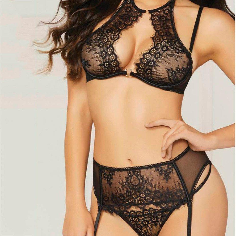 Lenceršªa Condolerse Cinturšn Suit, Encaje de Gasa de Encaje de Encaje de Las Mujeres de Moda Sexy Absolute: Amazon.es: Ropa y accesorios