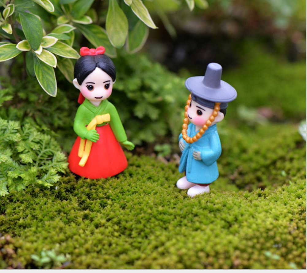 Korean Style Micro Figurines