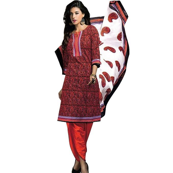 Amazon.com: Readymade étnico algodón Salwar Kameez traje ...