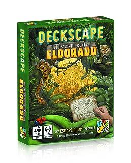 dV Giochi- Deckscape-Il Mistero di Eldorado-Siete Pronti ad Affrontare Le insidie e i pericoli della Foresta amazzonica-Edizione Italiana, Colore Verde, DVG5701