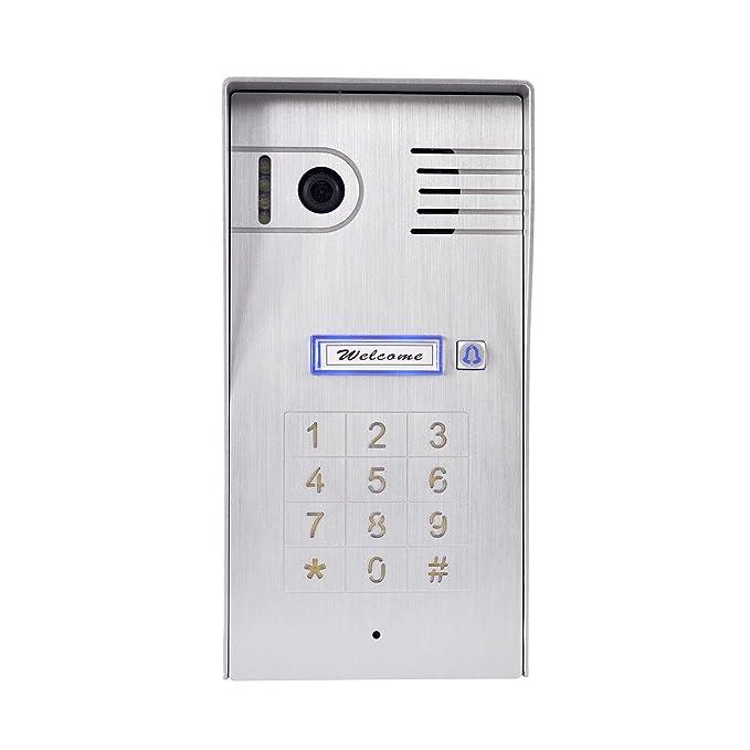 4 Draht Video Türsprechanlage Gegensprechanlage 7\'\' Monitor WLAN ...