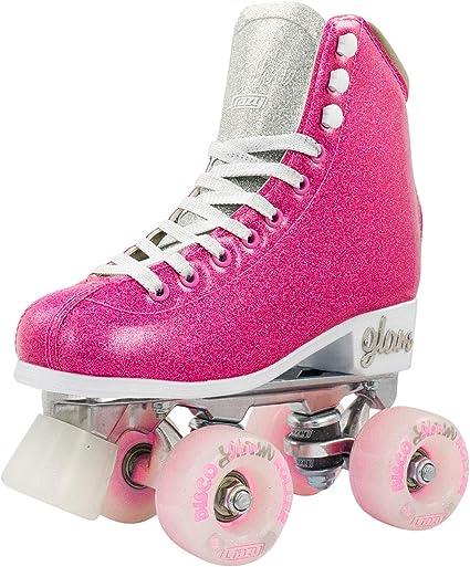 Crazy Skates Glam Skates Patines De Cuatro Ruedas Brillantes Y Glamorosos Para Mujeres Y Niñas Sports Outdoors