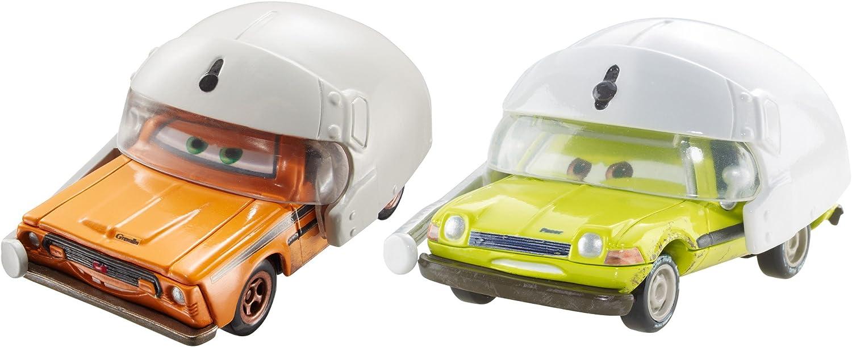 Disney Pixar Cars Grem & Acer with Helmets Vehicle, 2-Pack