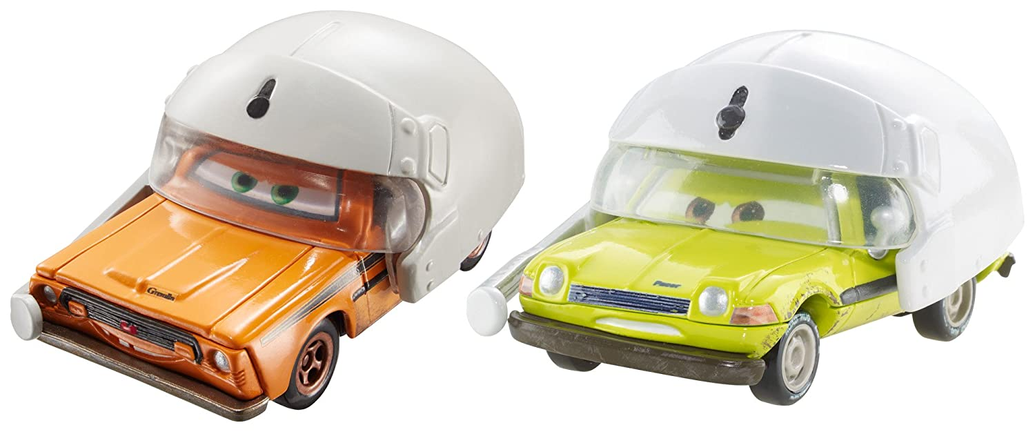 Disney/Pixar Cars Grem and Acer with Helmets Vehicle 2-Pack Mattel DHL21