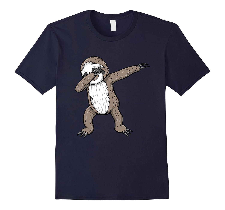 Womens Sloth Dabbing Funny Medium-Awarplus
