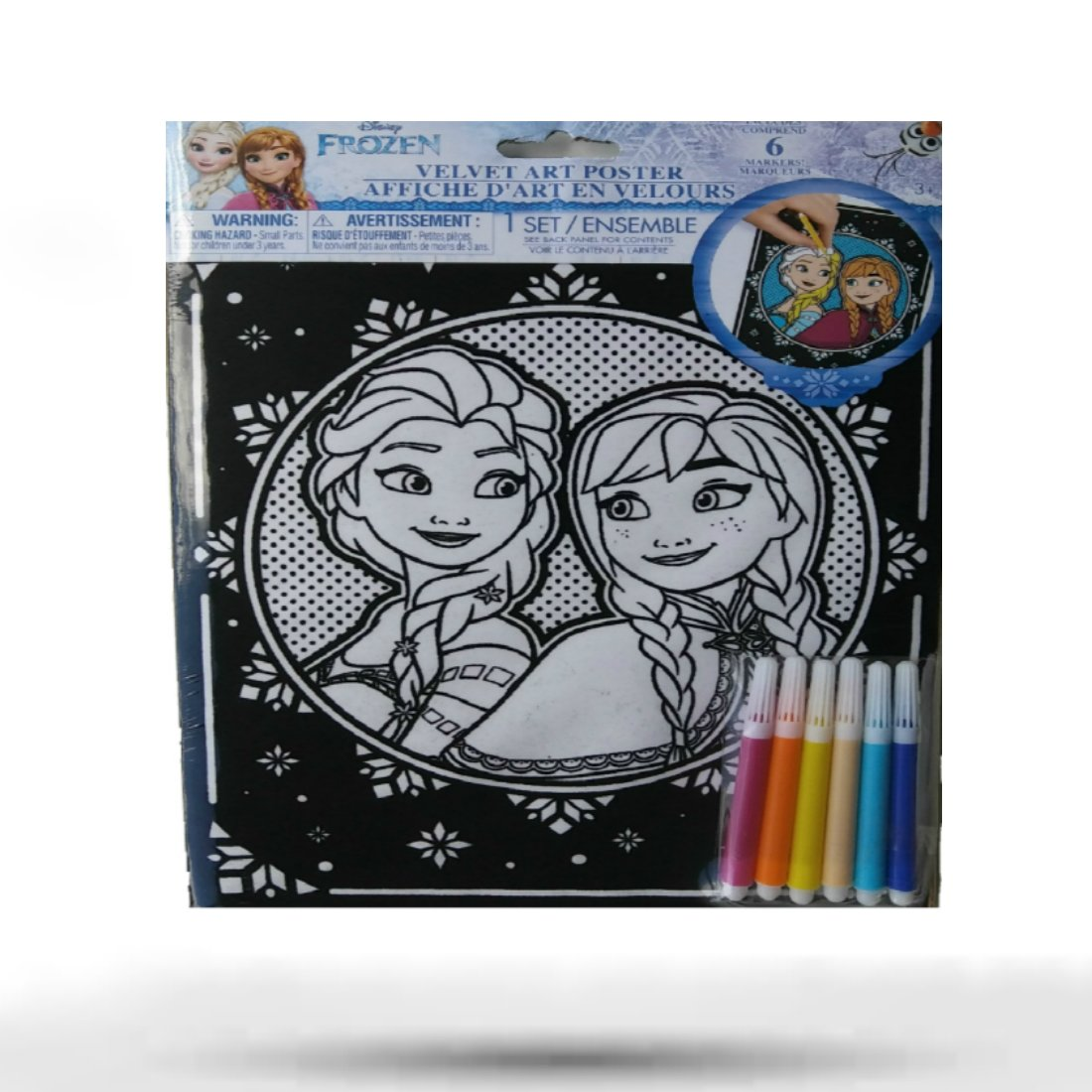 Disney velvet coloring posters - Amazon Com Velvet Poster Art Coloring Sheets For Kids Include Marker Disney Characters Frozen Mikey Mouse And Belle Toys Games
