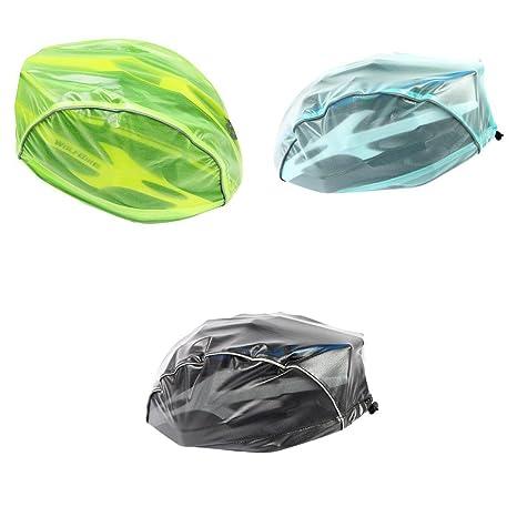 MagiDeal 3 Piezas de Cubiertas de Casco de Bicicleta Rainproof ...