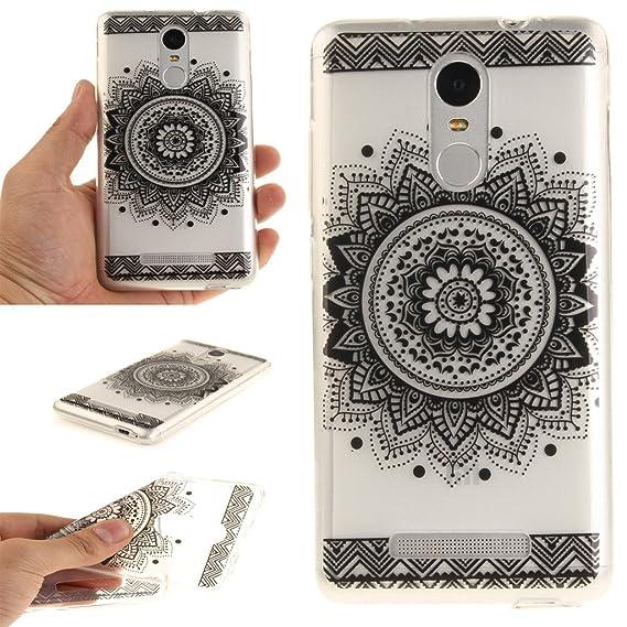 buy popular 7e89a 6c35f Amazon.com: Xiaomi Redmi Note 3 Case, Slim Soft Ultra Clear TPU Case ...
