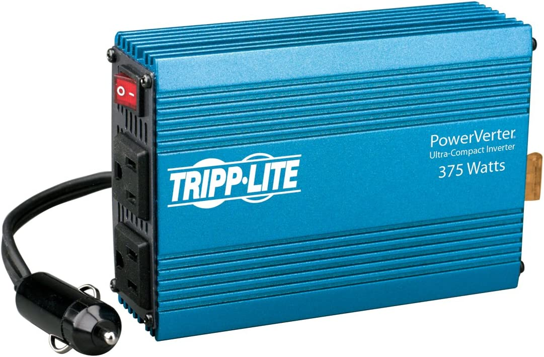 Tripp Lite 375W Car Power Inverter with 2 Outlets, Auto Inverter, Ultra Compact (PV375): Home Audio & Theater