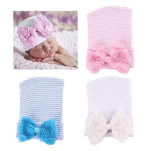 Amazon Dreshow Bqubo Newborn Hospital Hat Infant Baby Hat Cap