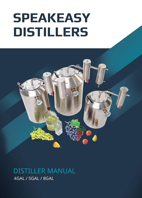 SPEAKEASY Distillers Proofing Parrot Stainless Steel Home Brewing ...