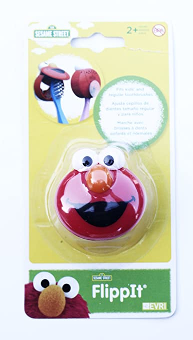 Amazon.com: Evriholder Sesame Street Flip-It Toothbrush Holder / Protector: Health & Personal Care