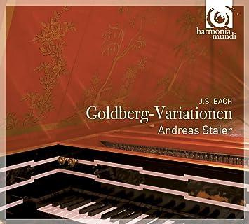 J.S.バッハ : ゴルトベルク変奏曲 BWV988 [ボーナスDVD付] [輸入盤・日本語解説書付] (J.S.Bach : Goldberg-Variationen / Andreas Staier)