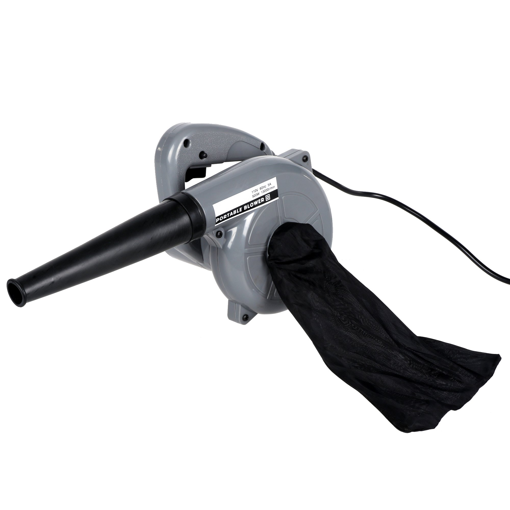 Etuoji 500W Powerful Electric Handheld Dust Leaf Blower Compact Electric Blower and Vacuum Cleaner