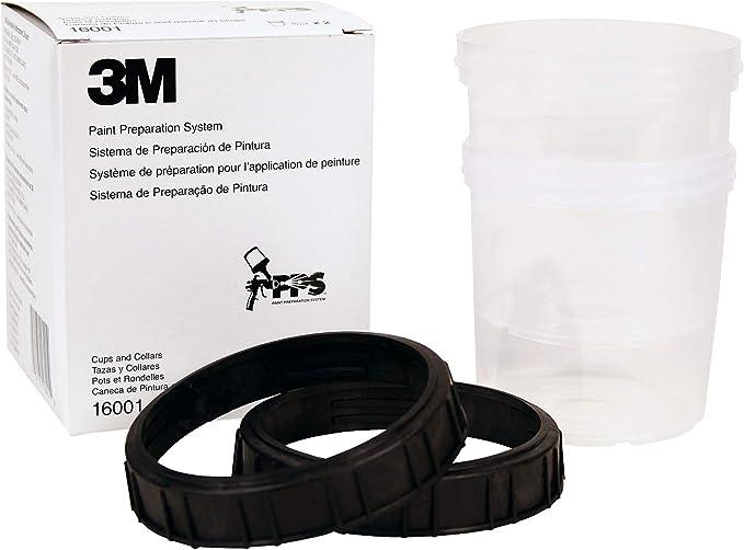 2 per carton 3M PPS Cup /& Collar Mini 16115