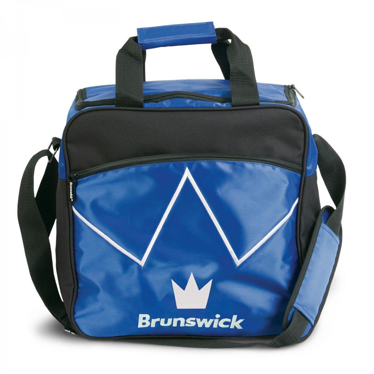 Brunswick 1-Ball Tasche Blitz Farbe:Blau